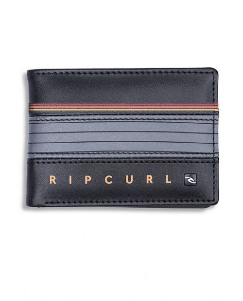 RIP CURL MENS WALLET.HOLD DOWN BROWN FAUX LEATHER MONEY NOTE COIN PURSE 8W R2 30